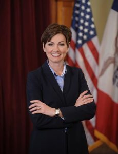 Gov. Kim Reynolds, Iowa